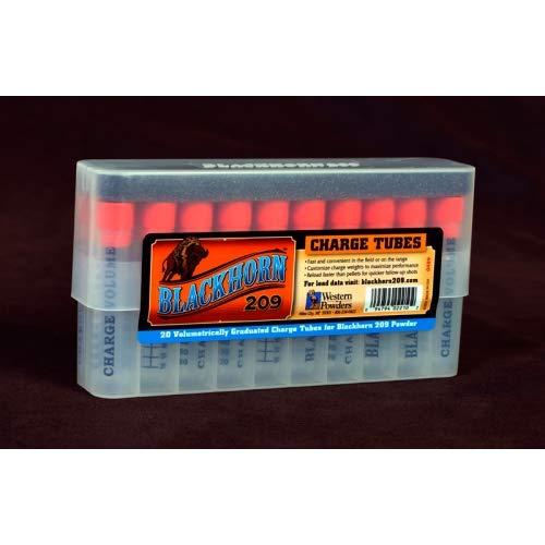 Price comparison product image Blackhorn 209 Muzzleloading Powder Tubes Box of 20
