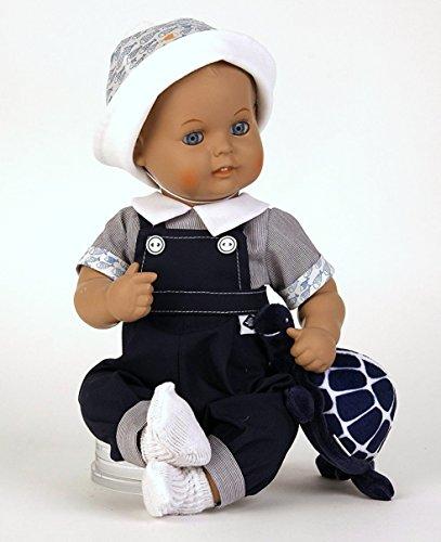 Schildkröt Baby Puppenkleidung für 35 cm Strampelchen maritimer Stil Art. Nr. 35644