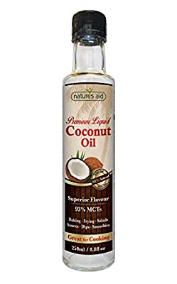 Liquid Coconut Premium Oil cla weight loss - 250 ml. by Nature's Aid mm by Natures Aid