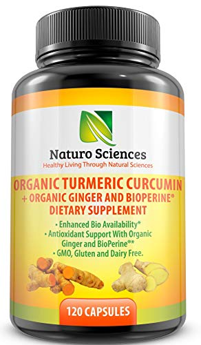 Organic turmeric curcumin by Naturo Sciences