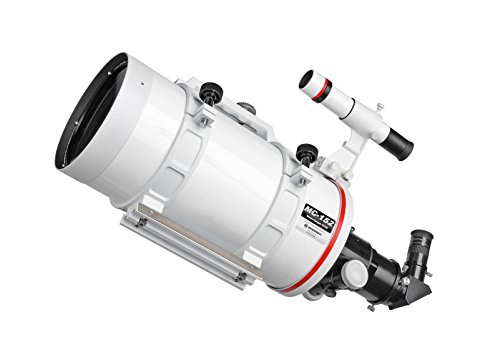 Bresser MC-152/1900 Maksutov Cassegrain Messier MC-152/1900 - Telescopio con Enfoque Hexagonal, Color Blanco
