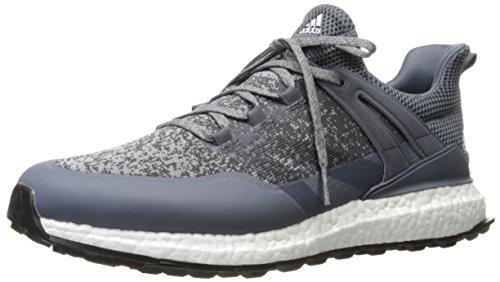 adidas Men's Crossknit Boost Midgre/on Golf Shoe, Grey, 8.5 M US
