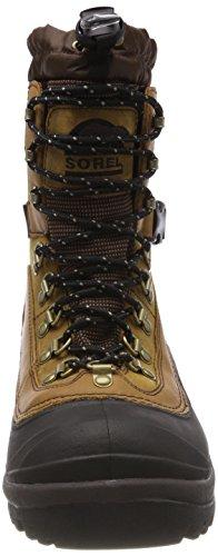Sorel Men's Conquest Snow Boot,Bark,7 M US