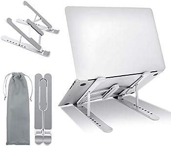 GOKOTTA Adjustable Aluminum Laptop Holder Riser