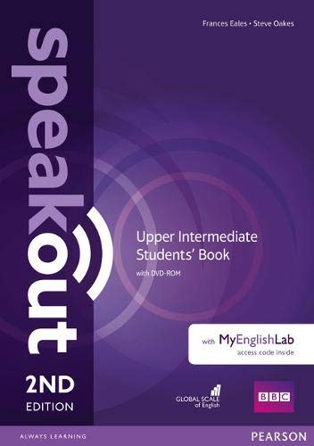 Speakout Upper Intermediate 2Nd Edition Students' Book With Dvd-Rom And Myenglishlab Access Code Pack (British English): Upper Intermediate Students' Book With MyEnglishLab (british English)