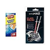 Polywatch Watch - Pasta de pulido de cristal con limpiador W5