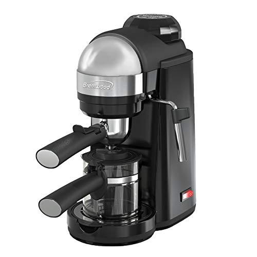 Brentwood GA-135BK Espresso and Cappuccino Maker, 4 Servings, Black