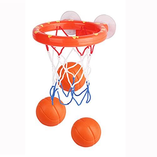 Tablero de Baloncesto Soporte de Baloncesto de la succión del baño, baños para niños Mini Canasta, Baby Basketball Stand Bathing Juguetes