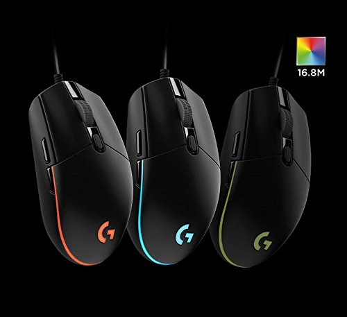 『Logitech G102 IC PRODIGY ゲーミングマウス オプティカル 6,000DPI, 16.8M Color LED Customizing, 6 Buttons -Bulk Package- [並行輸入品]』の7枚目の画像
