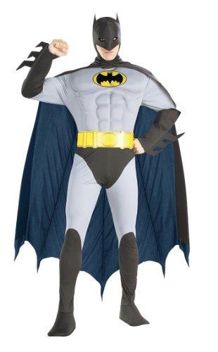 Rubie's Original Batman Muskelanzug - Kostüm für Erwachsene - Karneval (M)