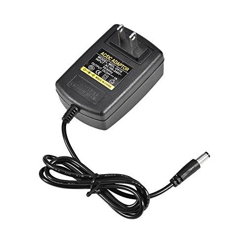 PUSOKEI Alimentatore Adattatore DC 24V 1A, caricabatteria Adattatore Universale AC100-240V da 5,5 * 2,1mm per TV Box apparecchiature Video Wireless Apparecchiature di sorveglianza MP3 / MP4(Nero)