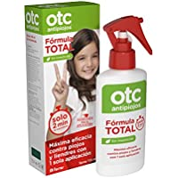 Otc Antipiojos Spray Fórmula Total Tratamiento Anti-Piojos para Eliminar Piojos y Liendres en 2 min, 125 ml