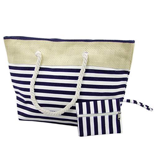 BAMBINIWELT strandtas shopper sauna zwembad tas zomer strand Beach Bag XXL model 3