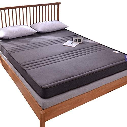 MKXF Espesar el colchón Topper Plegable futón colchón cojín portátil Suave Piso para Dormir