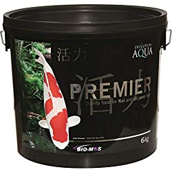 A quality koi feed should help boost the immune system