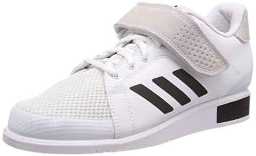adidas Power Perfect III, Scarpe da Fitness Uomo, Bianco (Ftwr White/Core Black/Ftwr White Ftwr White/Core Black/Ftwr White), 41 1/3 EU