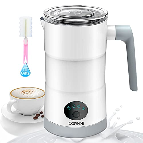 Milk Frother Electric - 4 in 1 Milk Frothers Machine / Milk Steamer with...