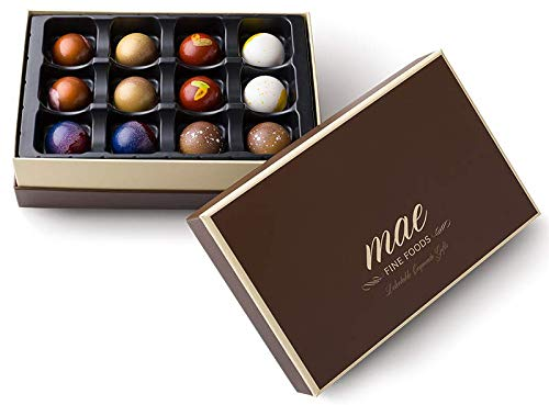 12 Classic Gourmet Chocolate Bonbons
