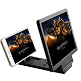 ROKCY Full Scren Screen Magnifier, Portable Phone Projector Smart Mobile Phone Movies Amplifier for All Smartphones