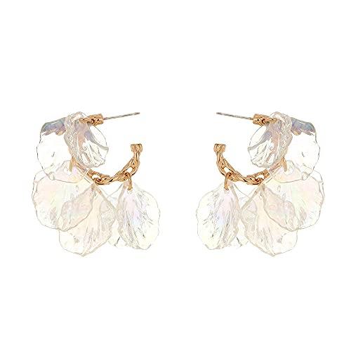 Pendientes De Anzuelo Pendientes Exquisitos De Bobinado Hecho A Mano Femenino Pearl Butterfly Moda Largo Oreja Anillos Sri-Metro