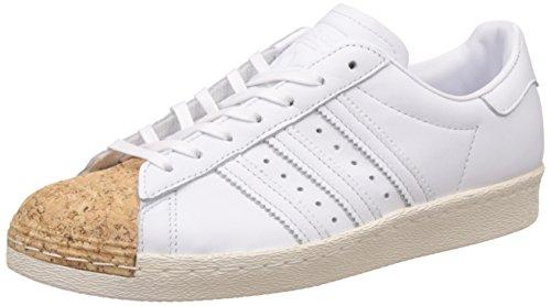 adidas Originals Superstar 80s Cork W, FTWR White-FTWR White-Off White, 9,5