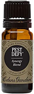 Edens Garden Pest Defy Essential Oil Synergy Blend, 100% Pure Therapeutic Grade (Highest Quality Aromatherapy Oils- Detox & Stress), 10 ml