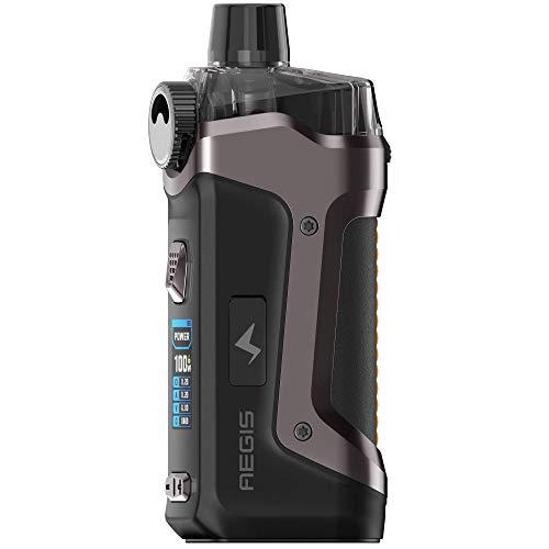 GeekVape Aegis Boost PRO Mod Pod Kit 100 W, Pod-System 6 ml, e-Zigarette, gunmetal
