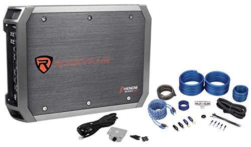 Rockville RXD-M1 2000 Watt Peak/500w @ 1 Ohm CEA RMS Mono Amplifier+Amp Kit