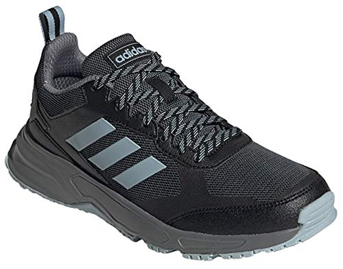 adidas Men's Rockadia Trail 3.0 Sneaker, Black, 7.5