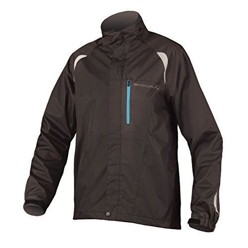 Endura Gridlock II Waterproof Cycling Jacket Black, Small
