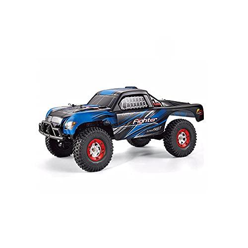 KGUANG Boy Bigfoot Off-Road RC Pickup con Cepillo 35 km/h 4WD Amortiguador Escalada 2.4G Control Remoto Buggy Escala Completa 1:12 Juguete eléctrico para niños Carreras Cumpleaños