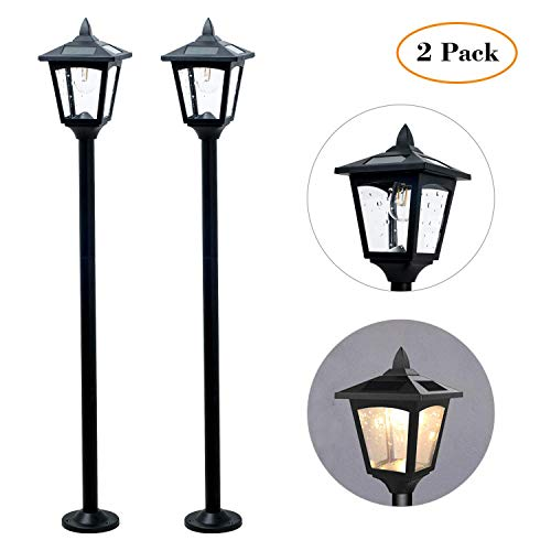 Kanstar Vintage Adjustable Garden Lamp Post