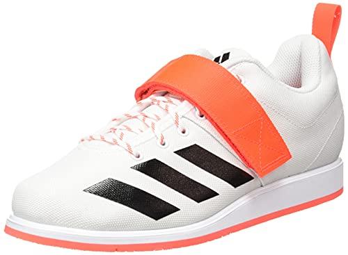 adidas Powerlift 4, Zapatillas de Running Hombre, FTWBLA/NEGBÁS/Rojsol, 42 2/3 EU
