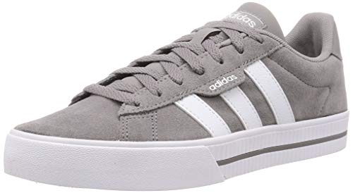 adidas Daily 3.0, Sneaker Hombre, Dove Grey/Footwear White/Dove Grey, 42 EU
