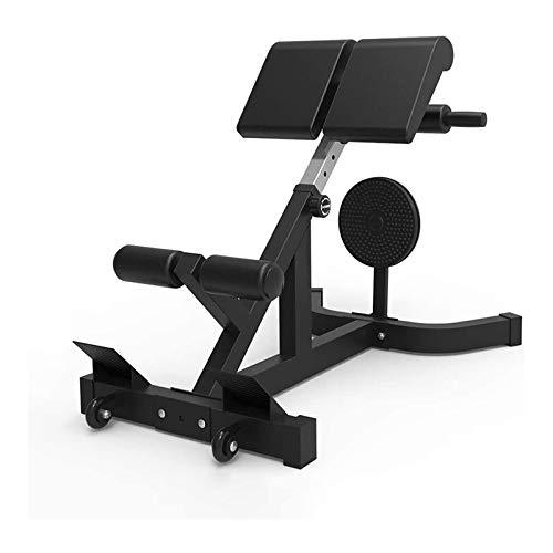 Entrenadores Fitness Core y Ab Silla abdominal para uso comercial, silla abdominal para uso abdominal, taburete abdominal para uso abdominal, escritorio abdominal para uso abdominal ( Color : Black )