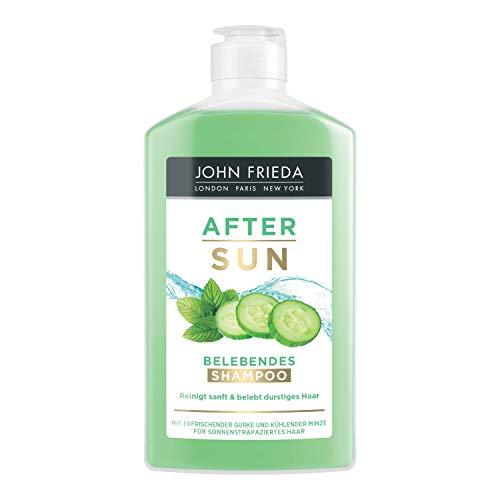 John Frieda After Sun - Shampoo - 250 ml - Mit erfrischender Gurke und kühlender Minze