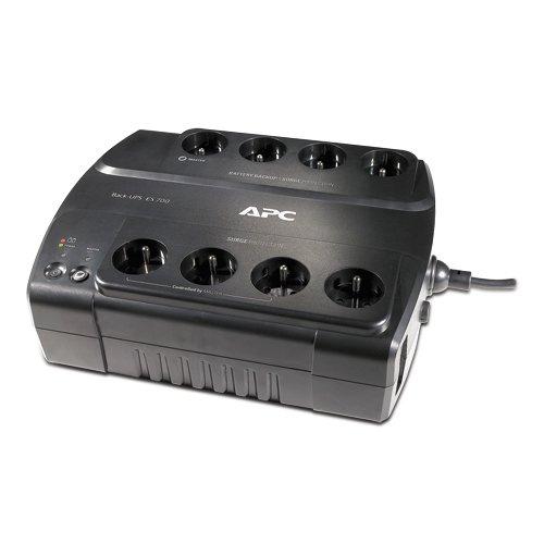 Preisvergleich Produktbild APC Power-Saving Back-Ups 700VA 8AC Outlet(S) Kompakt Schwarz Unterbrechungsfreie Stromversorgung (UPS) - Unterbrechungsfreie Stromversorgungen (USP) (700 VA,  405 W,  230 V