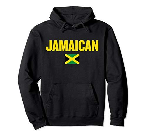 Jamaican Flag Rasta Reggae Roots Jamaica Gift Clothing Pullover Hoodie