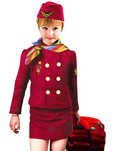 THEE Flight Attendant Costume for Halloween Children