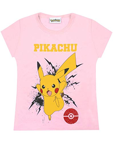 Pokemon Pikachu Bolt Girls T-Shirt (7-8 Years)