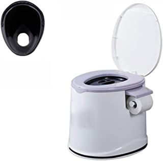 Mobile Toilet, Bedside Commode/Pregnant Women Elderly Toilet/Portable Travel Mobile Toilet/Compact Waste Solution, Strong ...