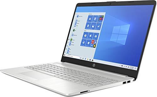 HP 15-dw3263ng (15,6 Zoll / FHD) Laptop (Intel Core i7 1165G7, 16GB DDR4 RAM, 512GB SSD, Intel Iris Xe Grafik, Windows 10) silber