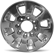Road Ready Car Wheel For 2011-2015 GMC Sierra 2500 GMC Sierra 3500 18 Inch 8 Lug Polish Aluminum Rim Fits R18 Tire - Exact OEM Replacement - Full-Size Spare