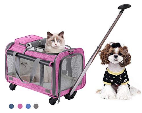 Trasportin Para Gatos Con Ruedas