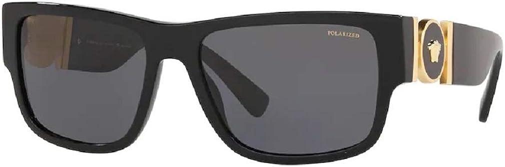 Versace VE4369 Pillow Sunglasses For Men+FREE Complimentary Eyewear Care Kit