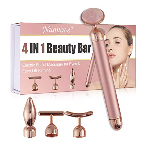 Beauty Bar 4 IN 1, Massage du Visage, Barre de Beauté, 24k Golden...