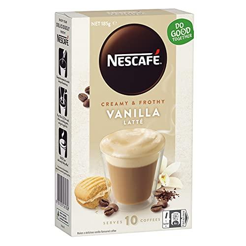NESCAFÉ Vanilla Latte Coffee Sachets 40 Pack, 4 x 10 Pack