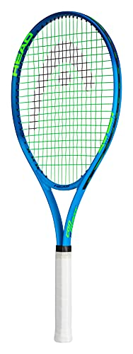 HEAD Ti. Conquest Tennis Racket - Pre-Strung Head Light Balance 27 Inch Racquet - 4 3/8 In Grip