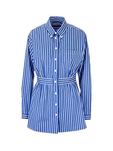 Prada Luxury Fashion Damen P407ES2011VWRF0016 Blau Baumwolle Bluse | Frühling Sommer 20