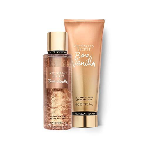 Kit Body Splah + Creme Hidratante Bare Vanilla Victoria's Secret 236ml+250ml